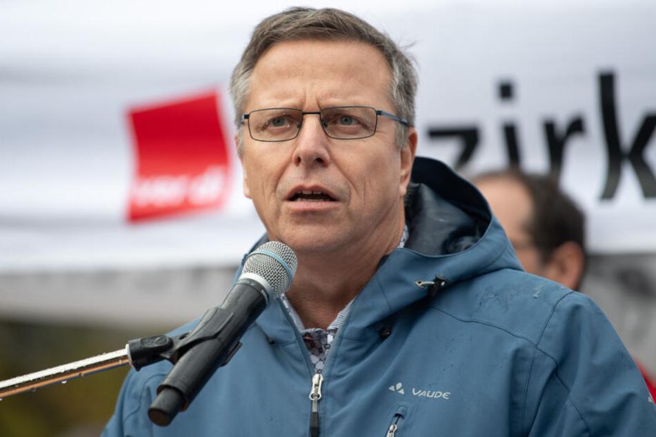 Verdi-Landesbezirksleiter Martin Gross.