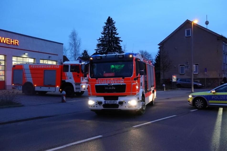 In Leipzig-Mölkau wurde am Dienstagnachmittag eine Bombe gefunden.