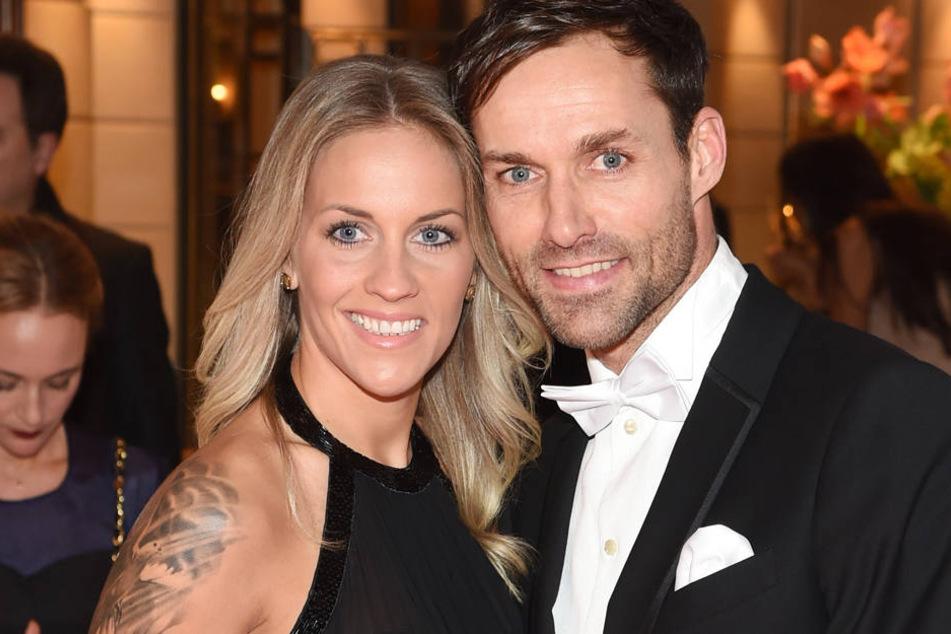 Sven Hannawald hat seine Melissa heimlich geheiratet.