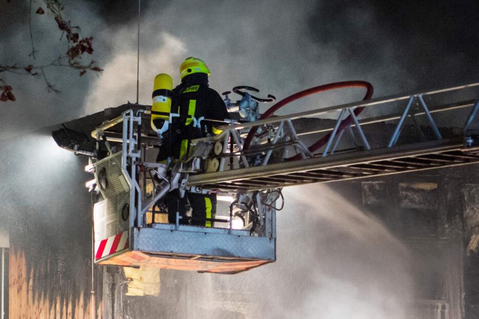 Die Serie der brennenden Holzbauten endete mit dem Brand einer Kita in Frankfurt-Dornbusch.