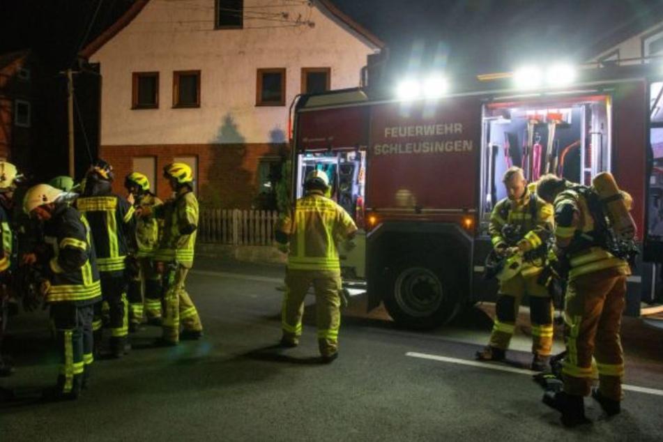 Die Feuerwehr handelte schnell und verhinderte damit Schlimmeres.