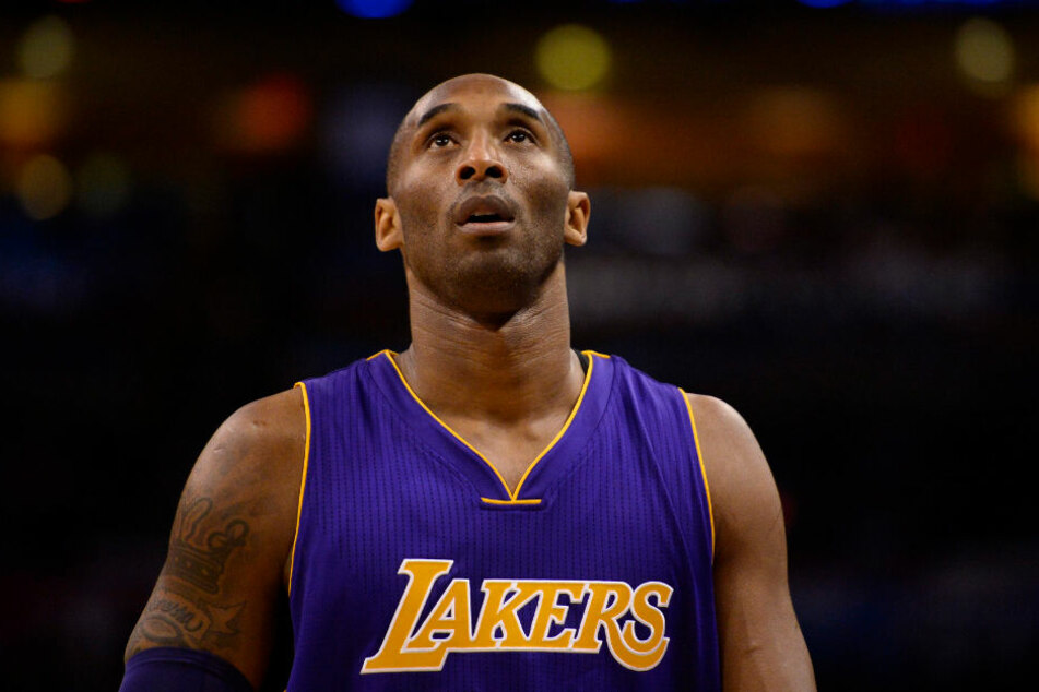 Kobe Bryant von den Los Angeles Lakers.