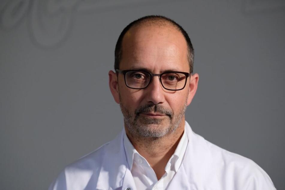Der Halloren-Vorstandsvorsitzende Ralf Wilfer muss rund 80 Mitarbeiter aus Produktion und Technik für drei Monate in Kurzarbeit schicken.
