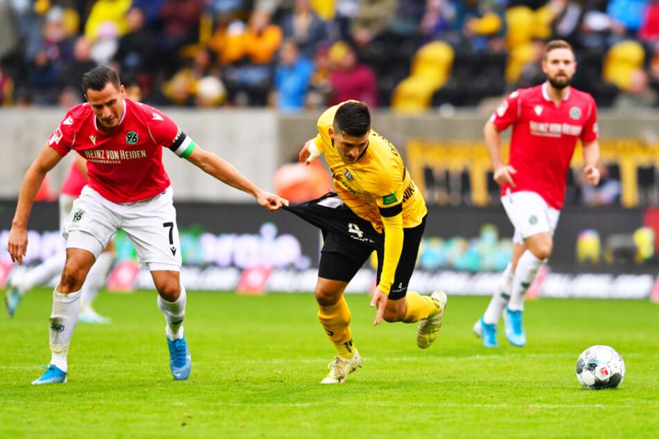 Jetzt gibt's kein Halten mehr! Hannovers Edgar Prib (l.) trifft am 17. Mai auf Jannis Nikolaou und dessen Dynamos.