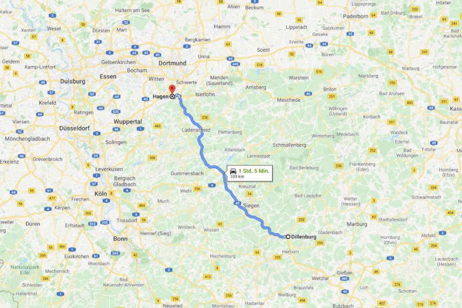 Der Mann fuhr 20 Kilometer als Geisterfahrer auf der Autobahn, bevor er gestoppt werden konnte.