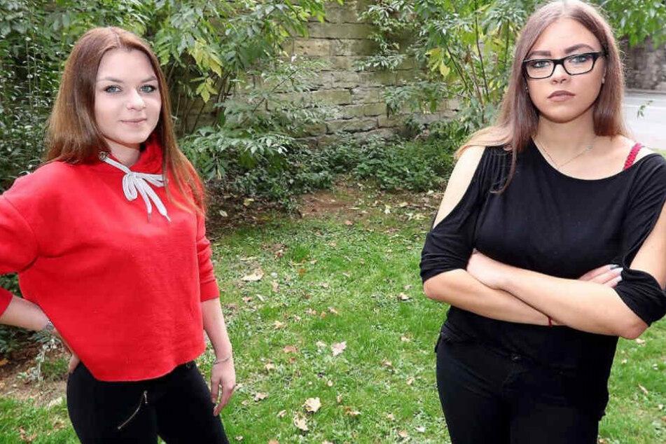 Als Werbegesichter für die AfD zu dienen, wollen sich Karolina Smaga und Linda Cariglia nicht gefallen lassen.