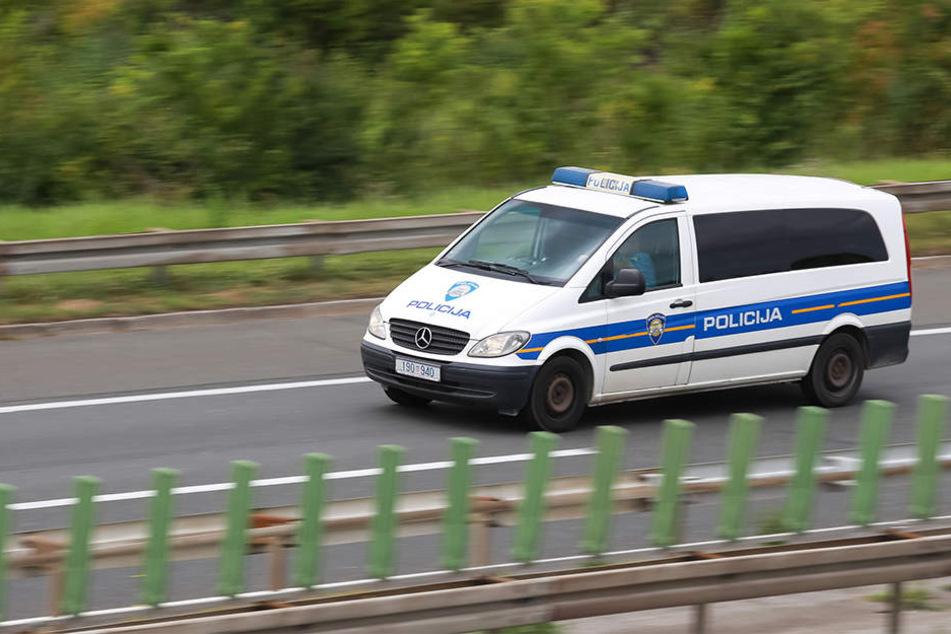 Die Polizei konnte alle Flüchtlinge retten. (Symbolbild)