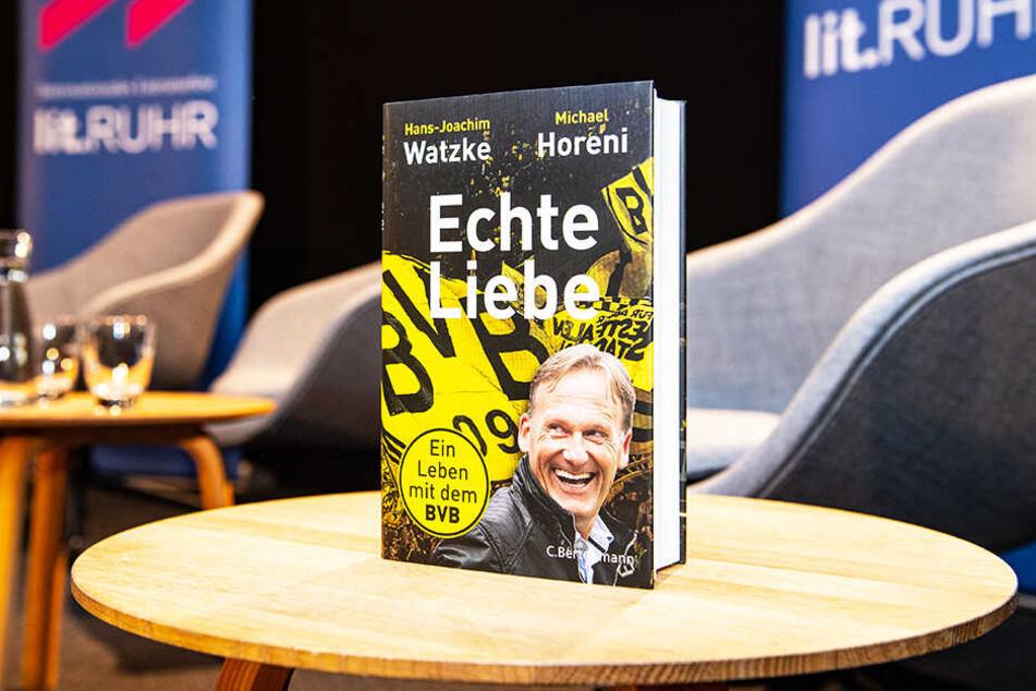 """Hans-Joachim Watzkes Buch """"Echte Liebe: Ein Leben mit dem BVB"""" erscheint am 14. Oktober."""