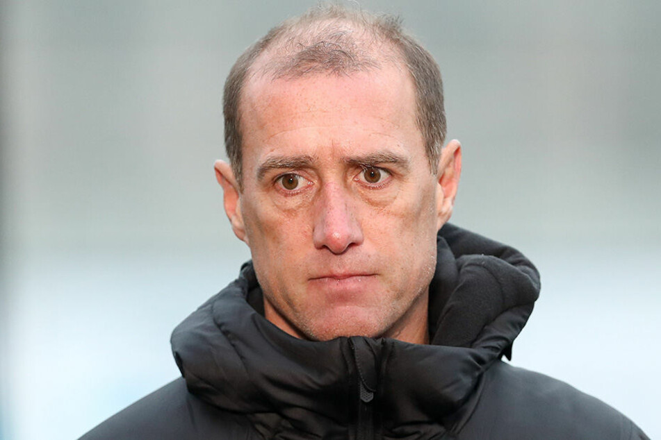 Sorgenvolle Miene bei FSV-Coach Joe Enochs.