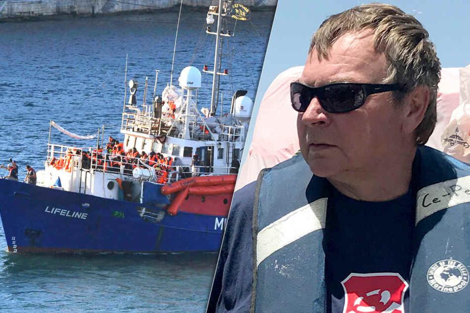"""Tatwerkzeug """"Lifeline""""! Kapitän muss heute zur gerichtlichen Anhörung"""