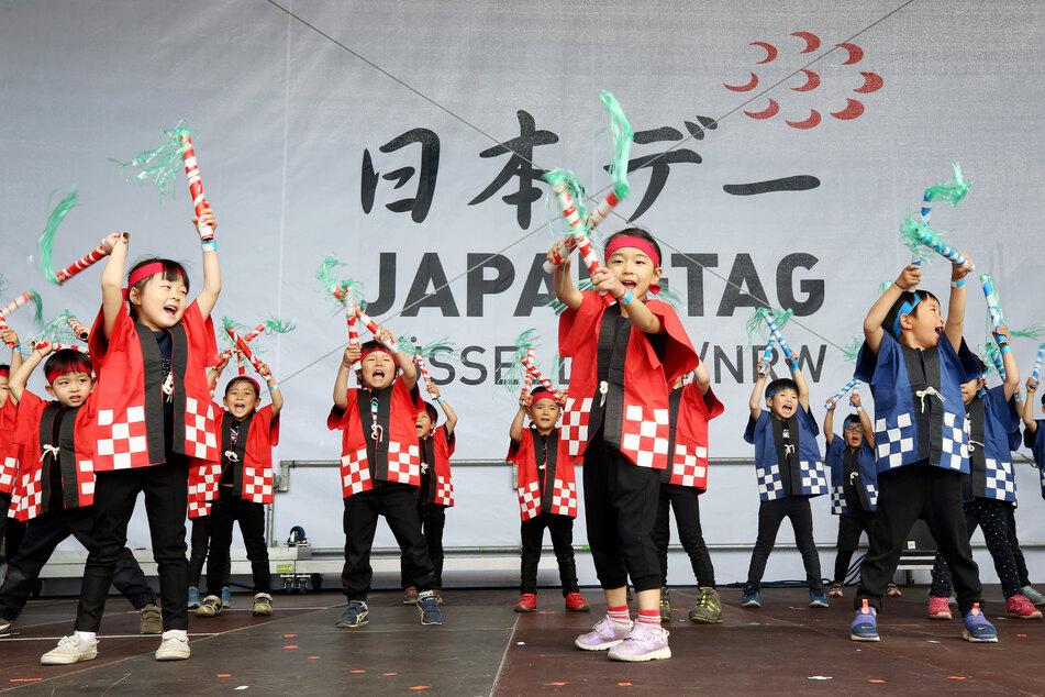 Aus dem Japan-Tag werden in diesem Jahr in Düsseldorf mehrere Japan-Tage. Geplant sind zahlreiche Veranstaltungen, sowohl digital als auch analog. (Archivfoto)