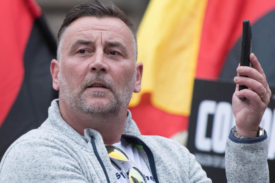Lutz Bachmann, Gründer und Anführer des fremdenfeindlichen Pegida-Bündnisses.
