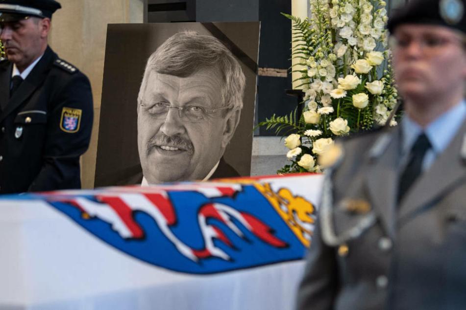 Am 13. Juni 2019 wurde der ermordete Regierungspräsident Walter Lübcke in Kassel beerdigt.