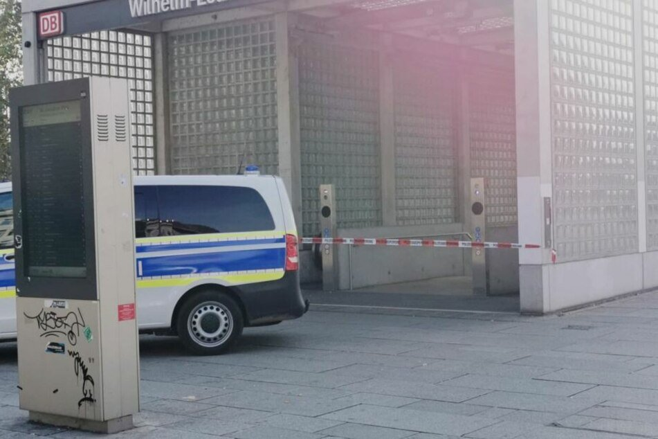 Die S-Bahn-Haltestelle Wilhelm-Leuschner-Platz war am Freitag wegen des Fundes der toten Frau gesperrt worden.