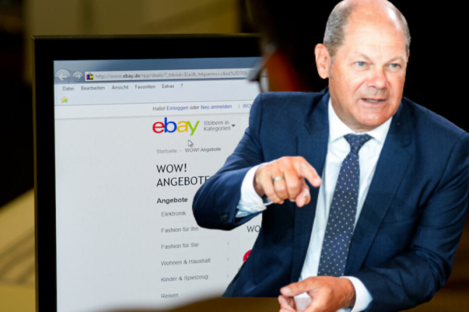 Finanzminister Olaf Scholz (60, SPD) leitete die Kabinettssitzung in Berlin (Bildmontage).