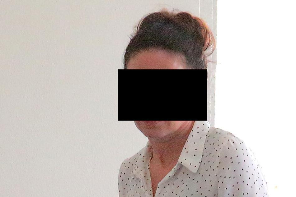 Kristin W. (36) musste vor den Amtsrichter in Dippoldiswalde.