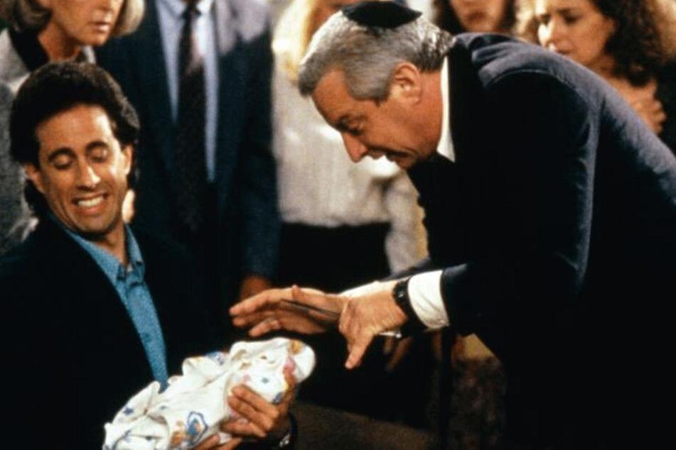 "Szene aus ""Seinfeld"": Charles Levin als jüdischer Mohel."
