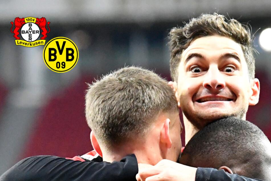 Bayer Leverkusen ringt BVB in starkem Spitzenspiel nieder!