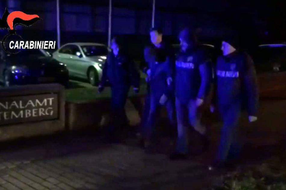 Fünf der elf Verdächtigen wurden in Nordhessen festgenommen.