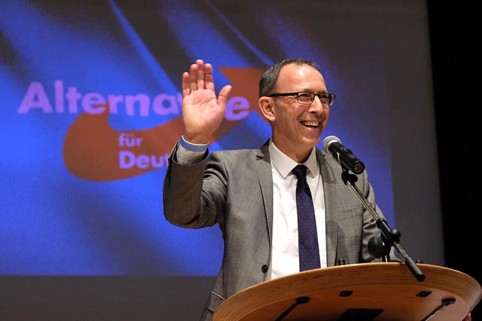 Jörg Urban wird die AfD als Spitzenkandidat bei der Landtagswahl anführen.
