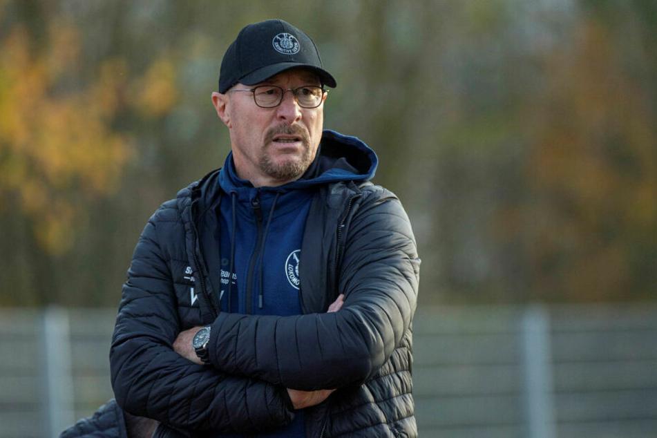 Nach drei Siegen ohne Gegentor reichte es für Interimstrainer und Sportdirektor Wolfgang Wolf am Sonntag nur zu einem 2:2 gegen Fürstenwalde.