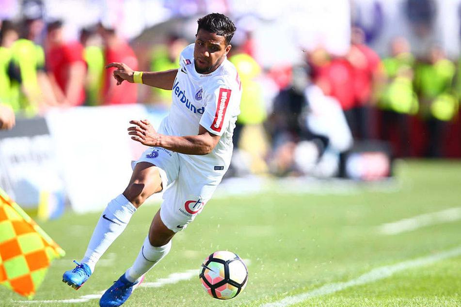 Ismael Tajouri (23) fühlt sich auf dem Flügel am wohlsten.