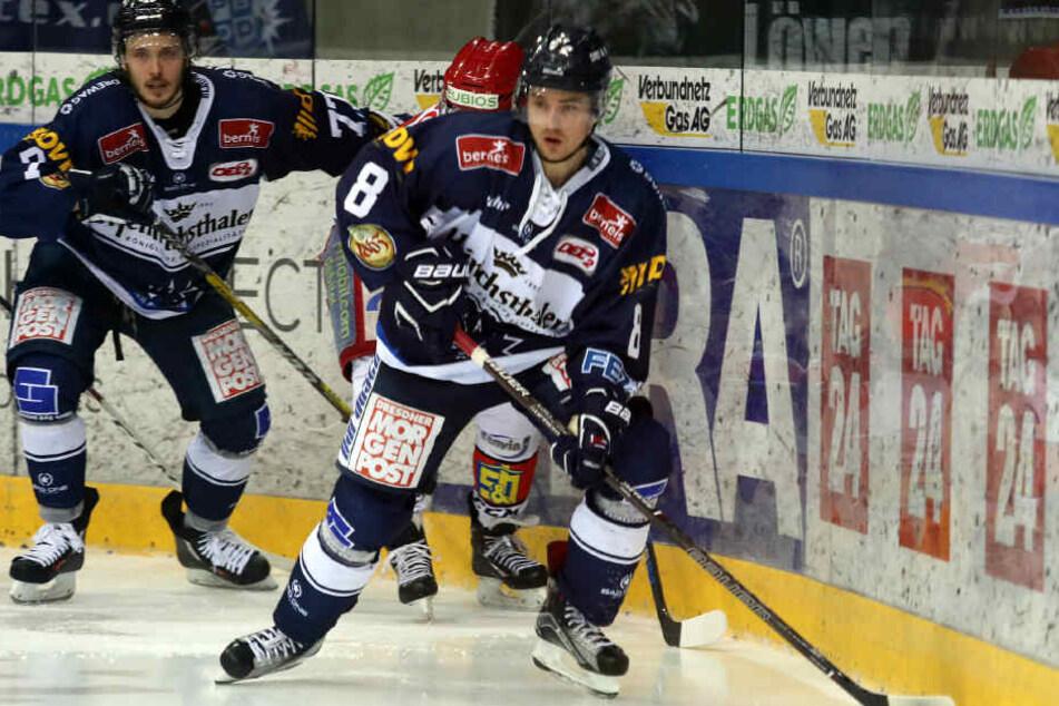 Teemu Rinkinen (77) und Juuso Rajala (8).
