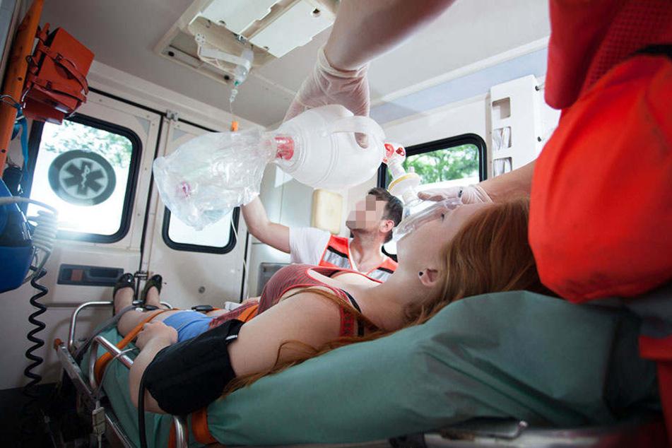 Zwei Schüler mussten in Krankenhäuser gebracht werden. (Symbolbild)