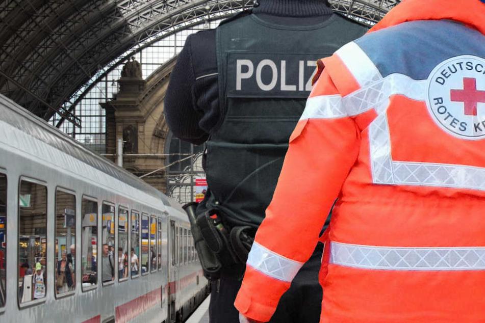 Die blutige Attacke ereignete sich im Dezember 2017 im Hauptbahnhof von Frankfurt (Symbolbild).