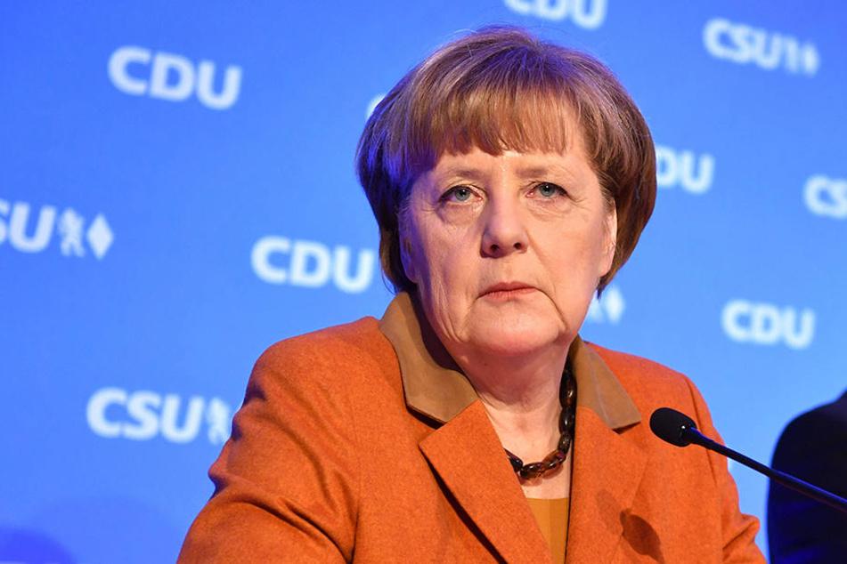 Angela Merkel (62, CDU).