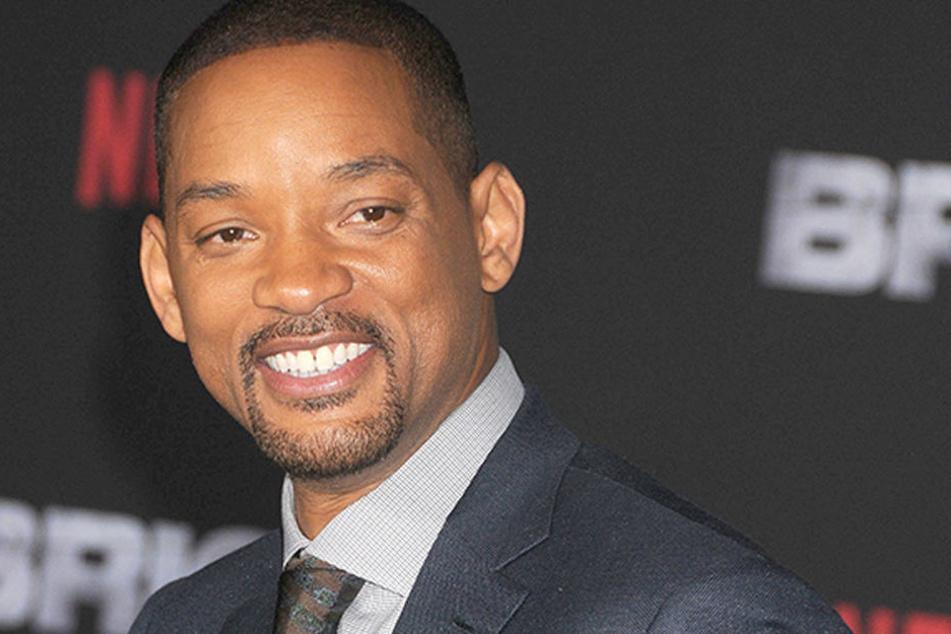 """Der US-Schauspieler Will Smith, sein aktueller Film """"Bright"""" ist auf Netflix zu sehen."""