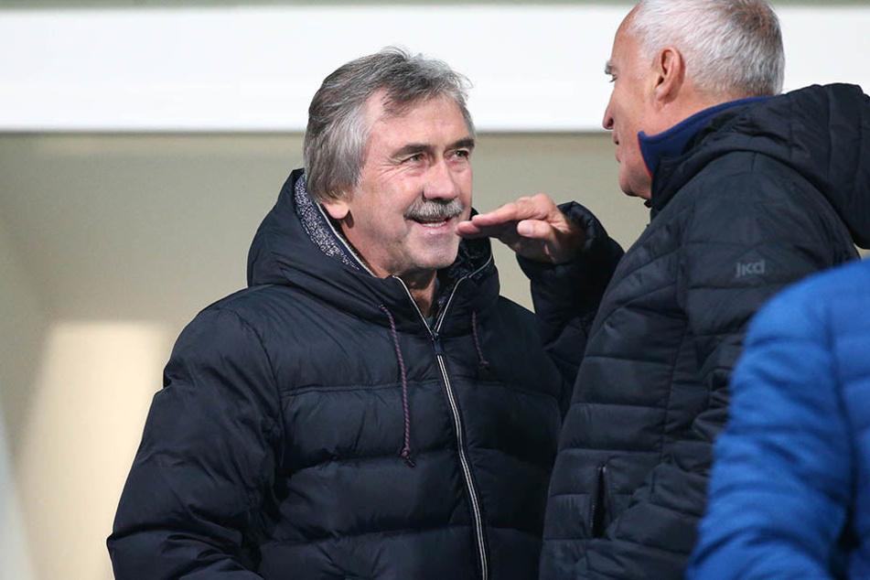 Beim Chemnitzer FC Ist Gerd Schädlich immer noch ein gern gesehener Gast auf der Tribüne.