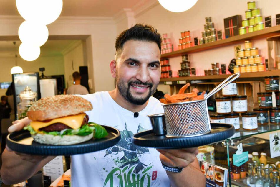 Vegan-Koch Attila Hildmann eröffnet am 18. Mai seine Snackbar in Köln.