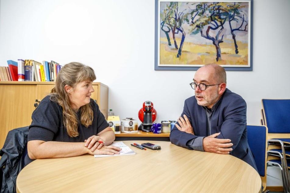 Mark Arenhövel im Interview mit TAG24-Redakteuerin Pia Lucchesi.