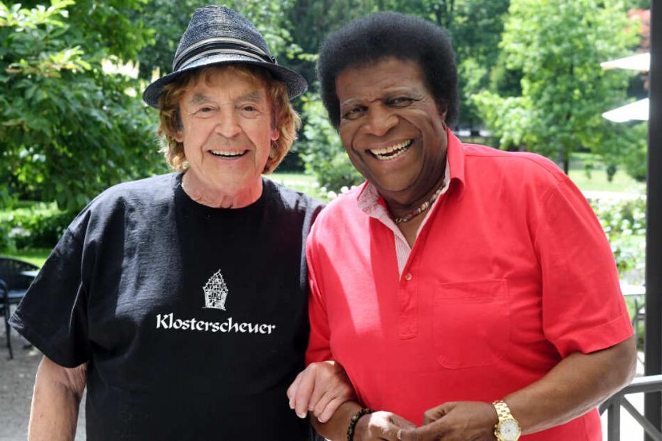 Die dienstältesten Sänger ihrer Zunft: Tony Marshall (links) und Roberto Blanco.