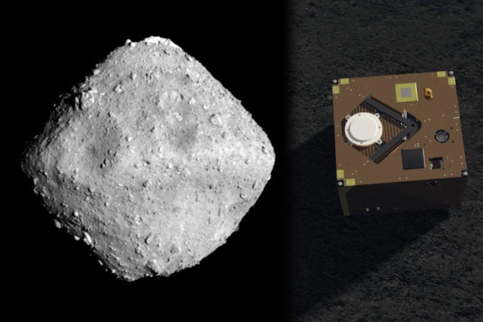 Riskantes Manöver: Raumsonde Mascot landet auf Asteroid