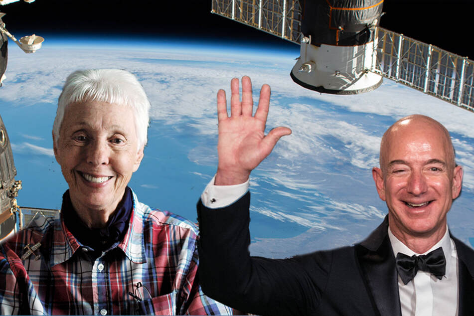 An 82-year-old pilot will join Jeff Bezos on his first trip to space!