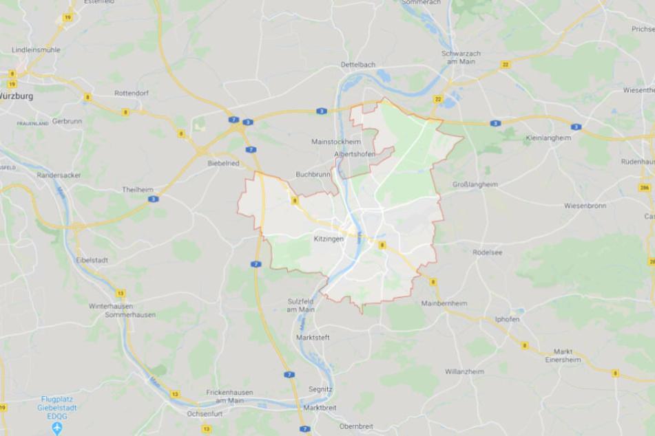 Der Vorfall ereignete sich in Kitzingen.