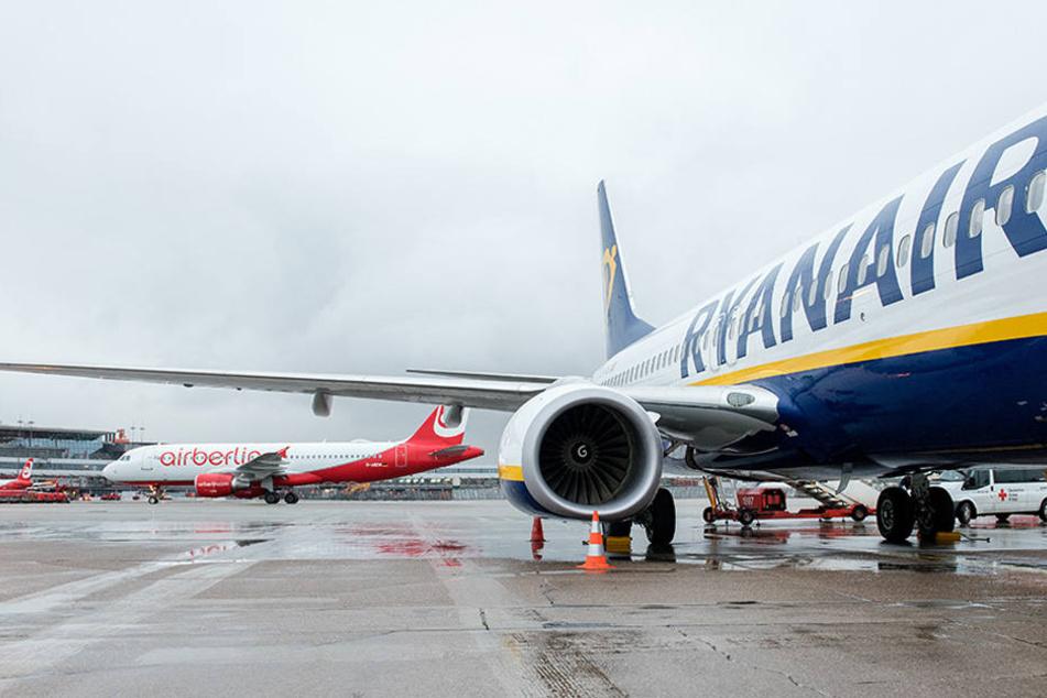 Ryanair spricht vom Komplott und Wettbewerbsverzerrung.