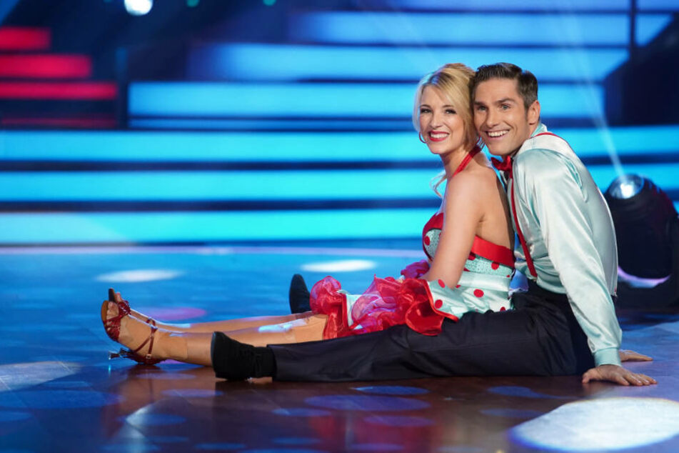 Iris Mareike Steen und Christian Polanc tanzen Jive.