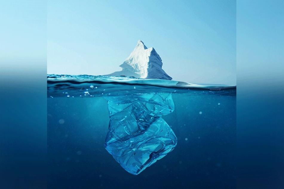 Umweltbombe Plastik: Insbesondere durch die Verpackungen von Lebensmitteln und anderen Gebrauchsartikeln des täglichen Lebens wird die Plastikflut auf unserem Planeten verursacht. (Symbolbild)