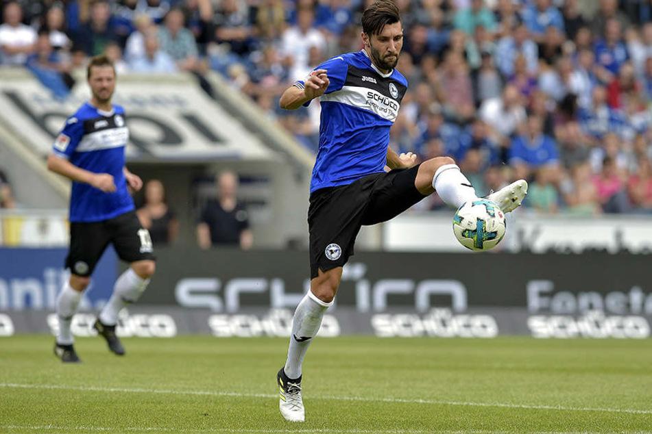 Gegen Dynamo Dresden machte Stephan Salger (27) eine gute Figur.
