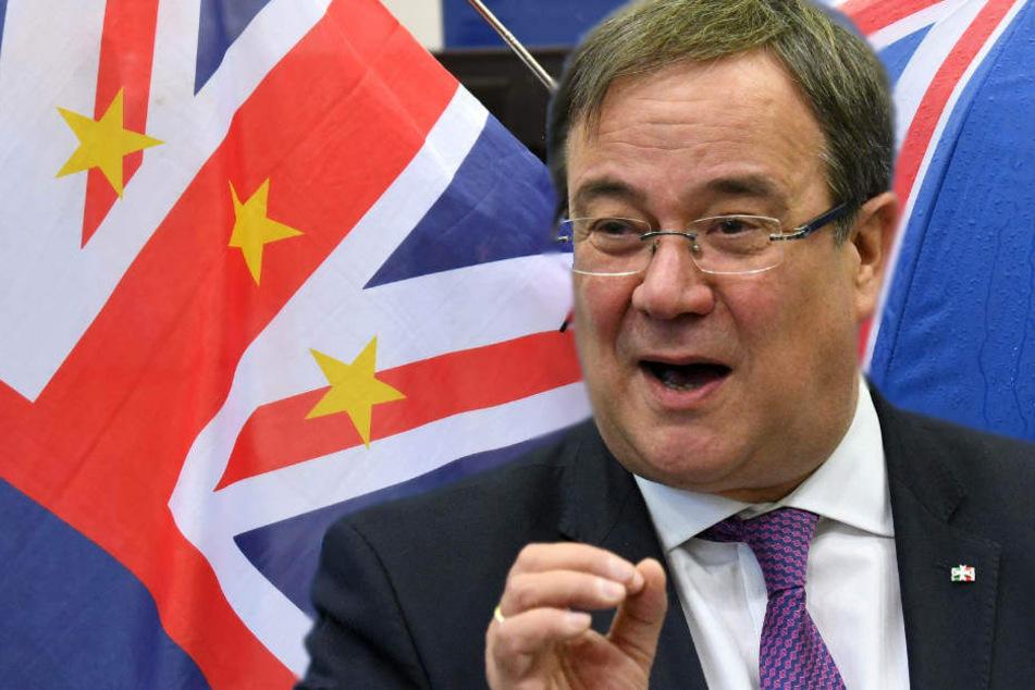 Armin Laschet erinnert daran, dass Großbritannien der vierwichtigste Handelspartner für NRW ist.