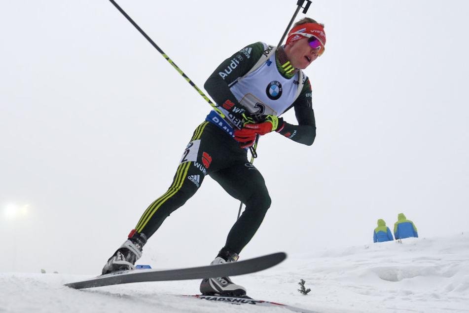 In Oberhof werden regelmäßig Biathlon-Wettkämpfe abgehalten.