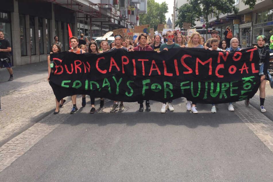"""Auch in den Sommerferien will die """"Fridays for Future""""-Bewegung aktiv bleiben."""
