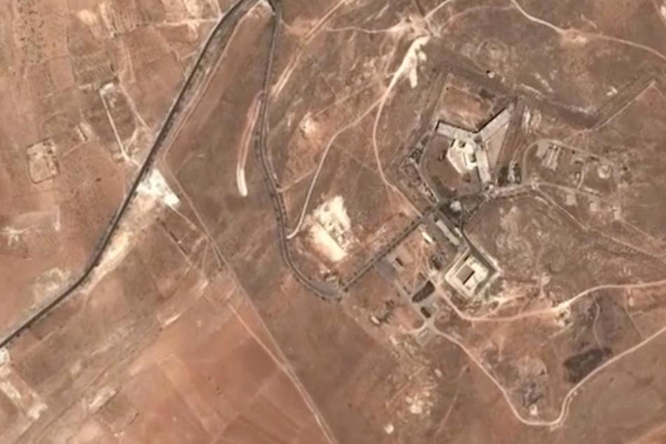 Das Mitärgefängnis Saidnaja in Syrien. Hier sollen rund 13.000 Menschen hingerichtet worden sein.