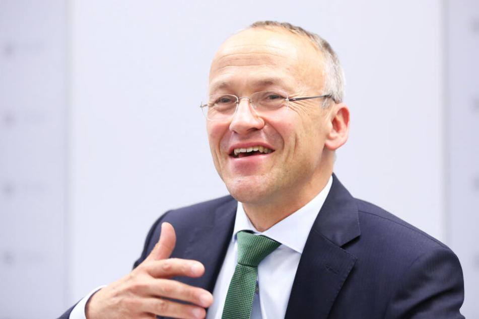 Freut sich über Rekord-Einnahmen: Finanzbürgermeister Peter Lames (55, SPD).