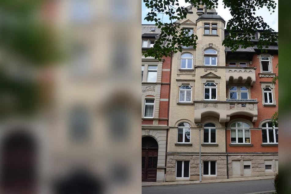 In diesem Haus in Falkenstein kam es zu dem Unglück.