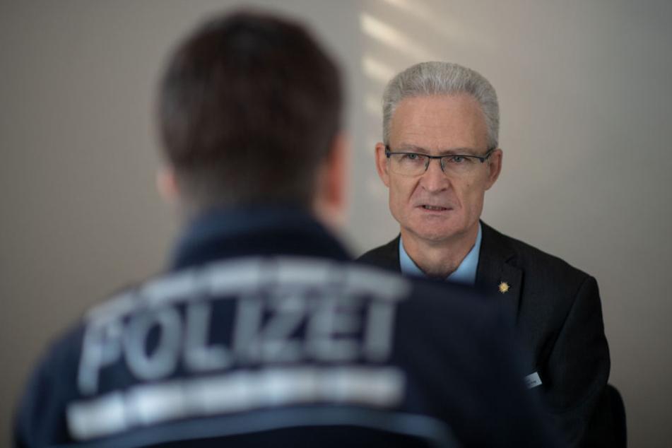 Georg Hug ist einer von 130 katholischen Polizeiseelsorgern bundesweit.
