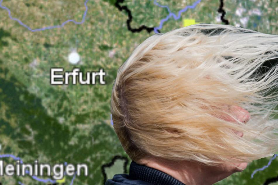 Bringt euch in Sicherheit: Gewaltiger Sturm zieht über Thüringen